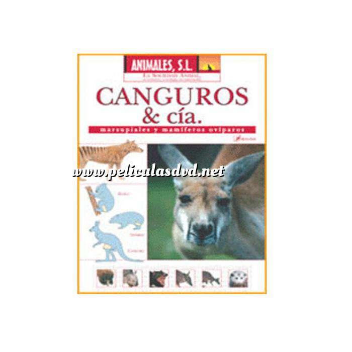 Imagen Animales S.L. DVD Animales S.L. - Canguros y Cia. Marsupiales y mamíferos ovíparos (Últimas Unidades)