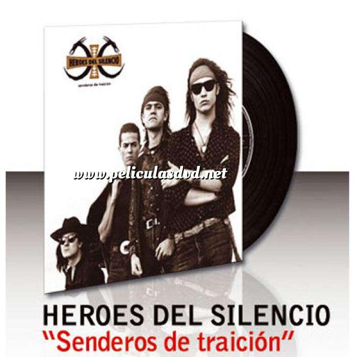 Imagen Discos de Vinilo Heroes del silencio - Senderos de Traición - Vinilo (Últimas Unidades)