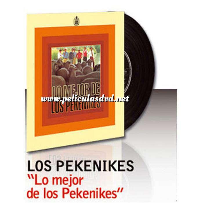 Imagen Discos de Vinilo Lo mejor de los pekenikes - Vinilo (Últimas Unidades)