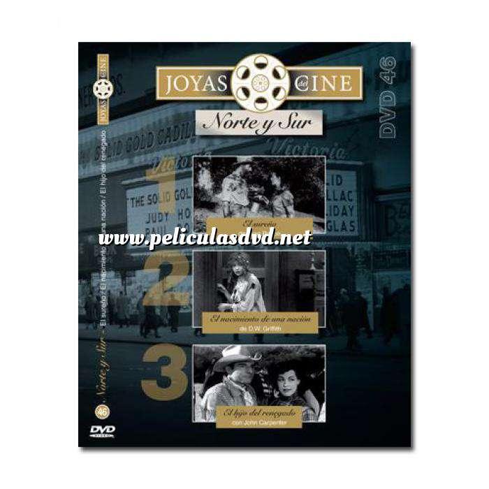 Imagen Joyas del cine Joyas del Cine 46 - Norte y Sur - El Sureño / El nacimiento de una Nación / El hijo del renegado (Últimas Unidades)