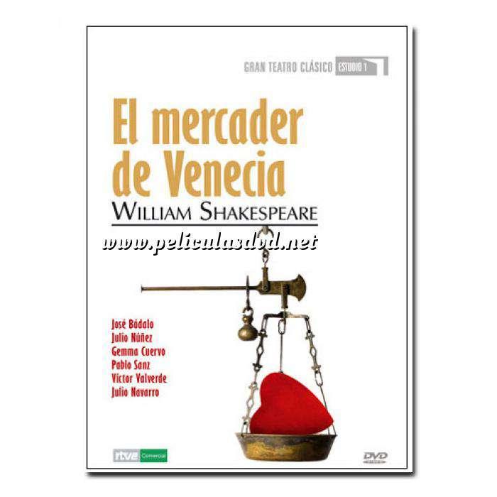 Imagen Teatro Clásico Colección DVD Teatro Clásico en Español - El Mercader de Venecia (Últimas Unidades)