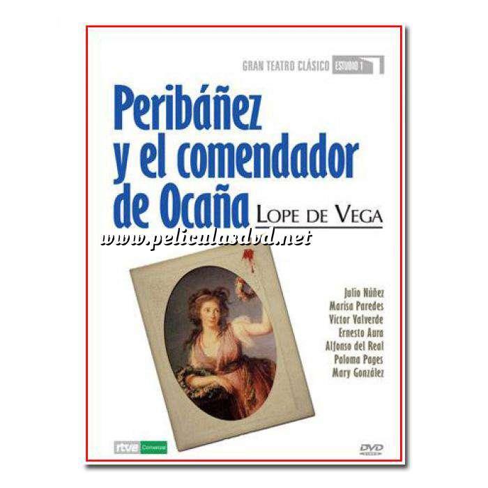 Imagen Teatro Clásico Colección DVD Teatro Clásico en Español - Peribañez y el Comendador de Ocaña (Últimas Unidades)