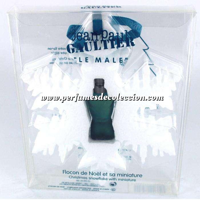 Imagen EDICIONES ESPECIALES Le Male Eau de Toilette by Jean Paul Gaultier 3.5ml. (Navidad - EDICIÓN ESPECIAL) (Últimas Unidades)