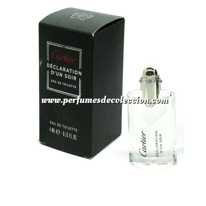 Imagen Mini Perfumes Hombre Déclaration d Un Soir Eau de Toilette by Cartier 4ml. (Últimas Unidades)