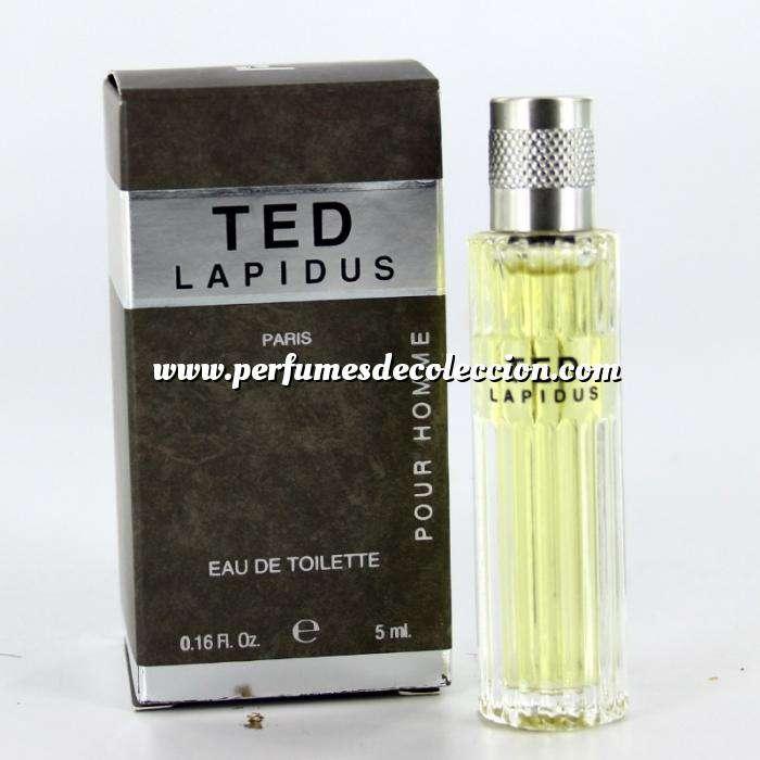 Imagen Mini Perfumes Hombre Ted Lapidus Pour Homme Eau de Toilette by Ted Lapidus 5ml. (Últimas unidades)