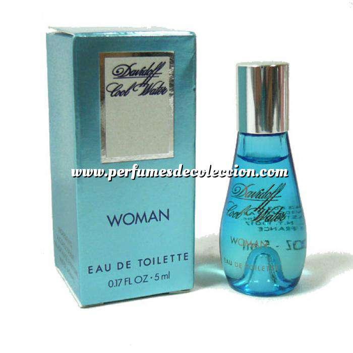 Imagen Mini Perfumes Mujer Cool Water Woman Eau de Toilette by Davidoff 5ml. (Últimas unidades)