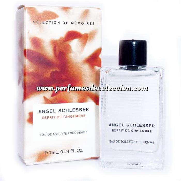 Imagen Mini Perfumes Mujer Esprit de Gingembre Eau de Toilette by Angel Schlesser 7ml.