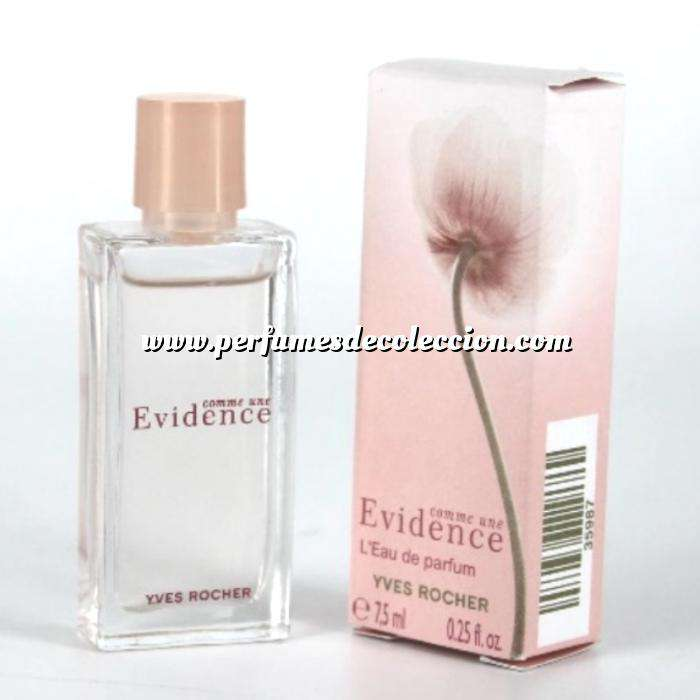 Imagen Mini Perfumes Mujer Evidence Comme Une Eau de Parfum by Yves Rocher 7.5ml. (Últimas Unidades)