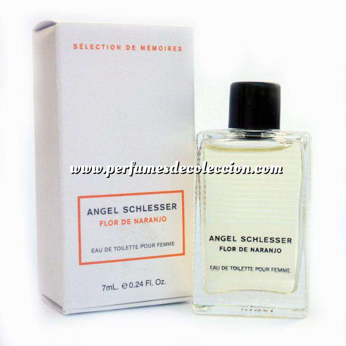 Imagen Mini Perfumes Mujer Flor de Naranjo Eau de Toilette by Angel Schlesser 7ml. (Últimas Unidades)