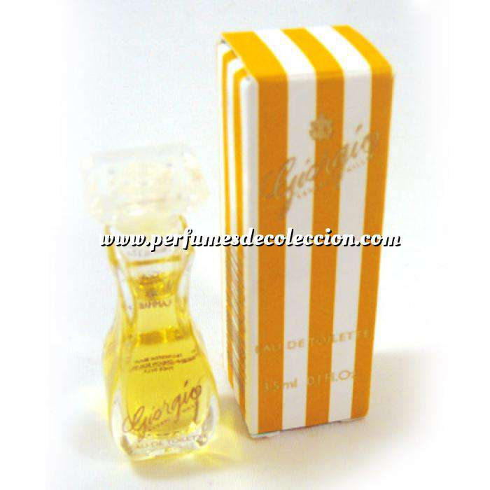 Imagen Mini Perfumes Mujer Giorgio Eau de Toilette by Giorgio Beverly Hills 3,5ml. (CAJA PEQUEÑA) (Ideal Coleccionistas) (Últimas Unidades)