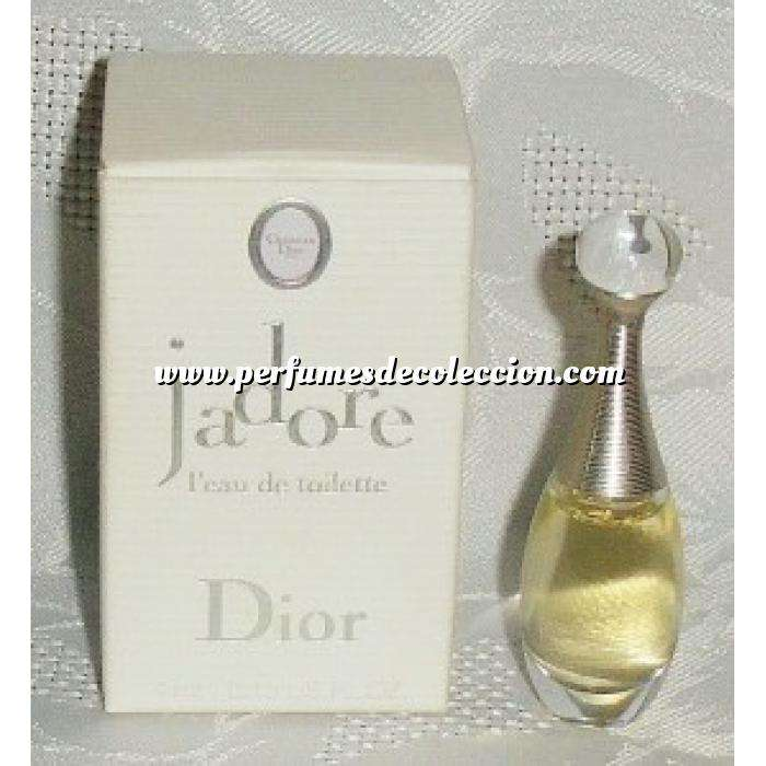 Imagen Mini Perfumes Mujer J´Adore EDT by Christian Dior 4ml. (Últimas Unidades)