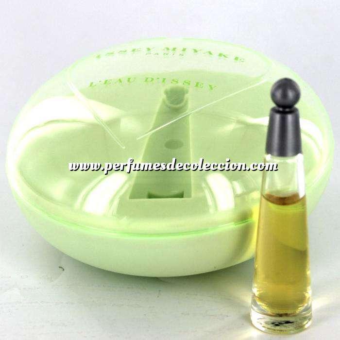 Imagen Mini Perfumes Mujer L eau d Issey by Issey Miyake 3ml MUJER. (EDICIÓN ESPECIAL - caja redonda) (Últimas Unidades)