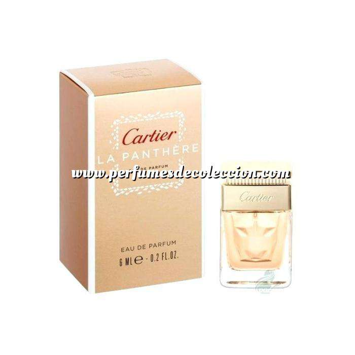 Imagen Mini Perfumes Mujer La Panthere EDP by Cartier 6ml. (Últimas unidades)