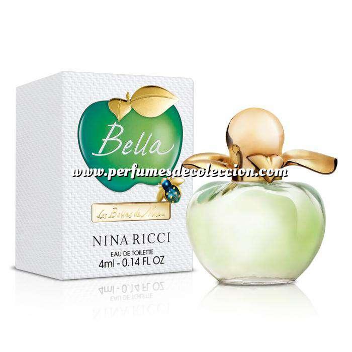 Imagen Mini Perfumes Mujer Nina Bella Eau de Parfum by Nina Ricci 4ml. (Últimas Unidades)