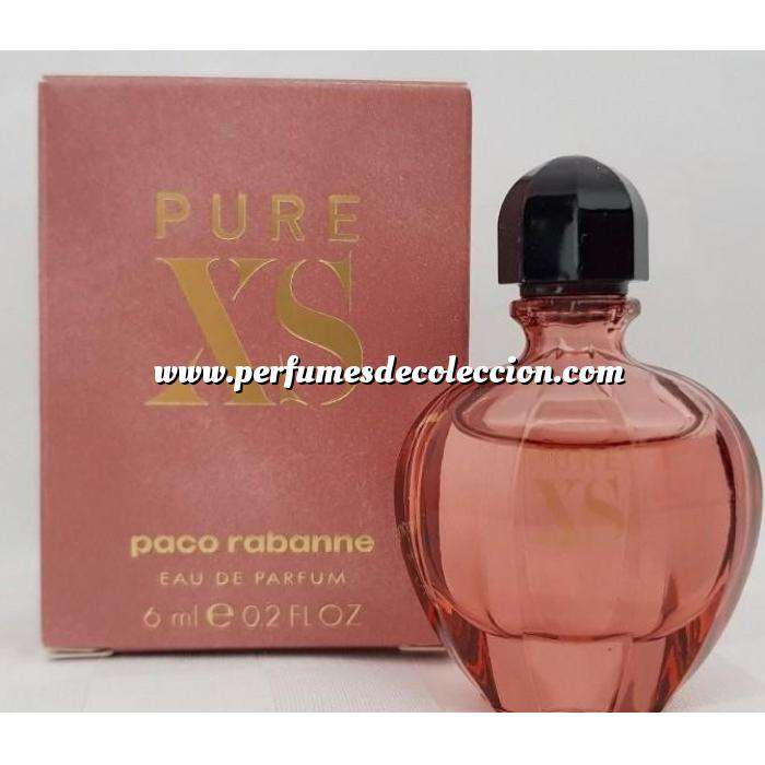 Imagen Mini Perfumes Mujer Pure XS mujer EDP by Paco Rabanne 6ml. (IDEAL COLECCIONISTAS) (Últimas Unidades)
