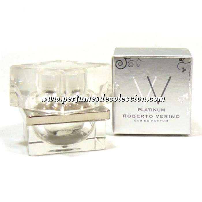 Imagen Mini Perfumes Mujer VV Platinum Eau de Parfum de Roberto Verino 4ml. (Últimas Uds.) (Últimas Unidades)