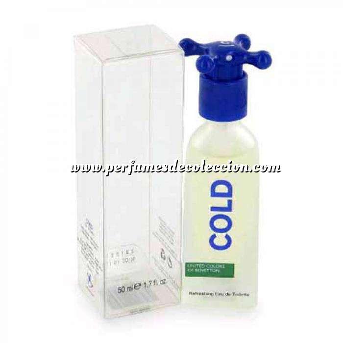 Imagen -Mini Perfumes Hombre Cold Refreshing Eau de Toilette by Benetton 5.5ml. (Ideal Coleccionistas) (Últimas Unidades)