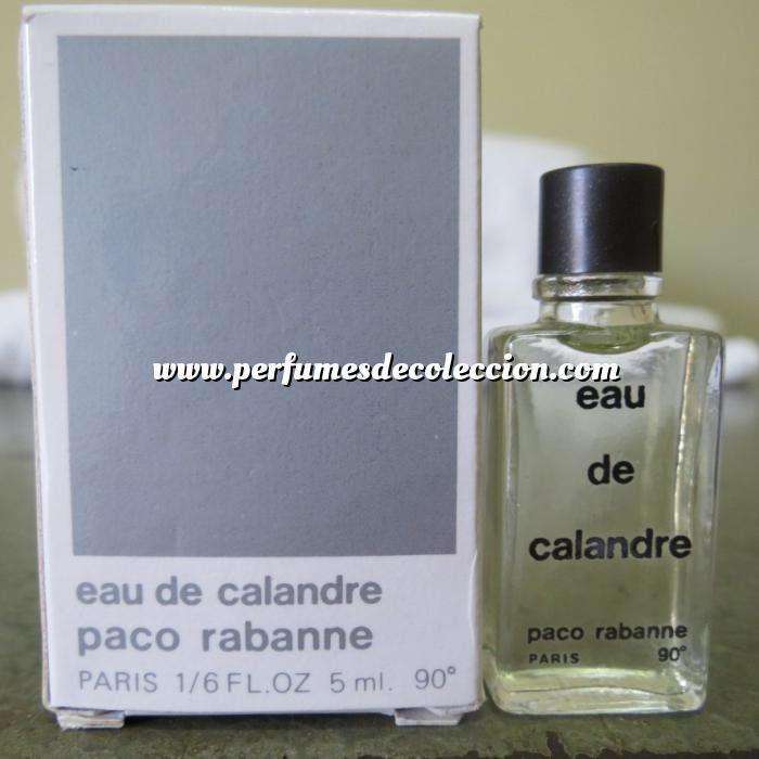 Imagen -Mini Perfumes Hombre Eau de Calandre by Paco Rabanne 5ml. CAJA MAL ESTADO (Últimas Unidades)