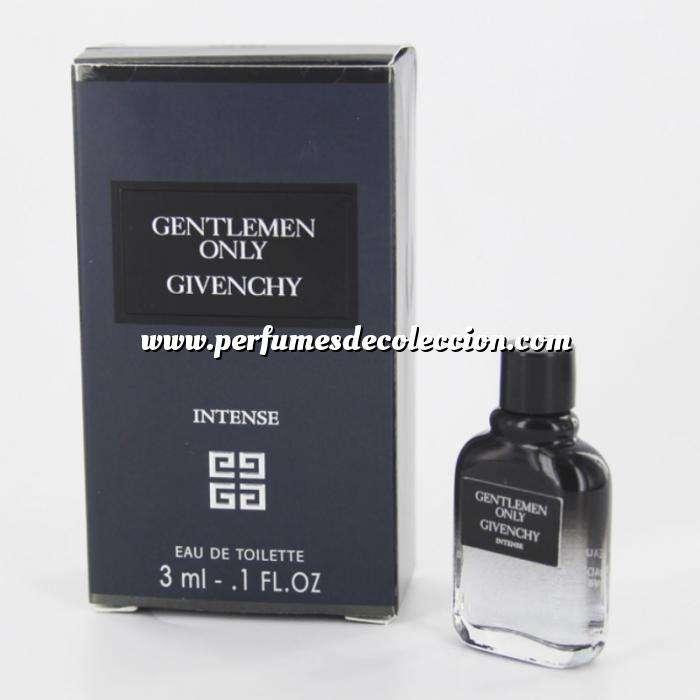 Imagen -Mini Perfumes Hombre Gentlemen Only Intense Eau de Toilette by Givenchy 3ml. (Últimas unidades)