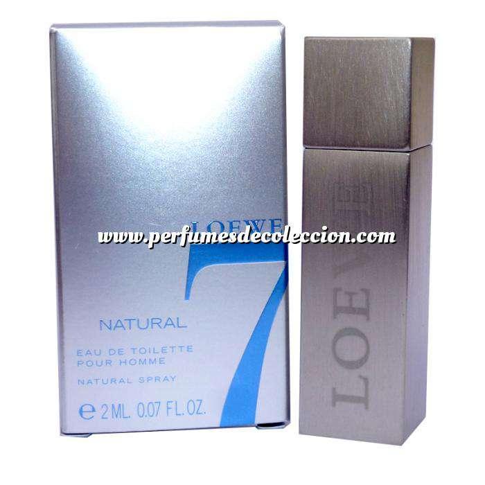 Imagen -Mini Perfumes Hombre Loewe 7 Natural by Loewe - CAJA GRIS PLATA (IDEAL COLECCIONISTAS) (Últimas Unidades)
