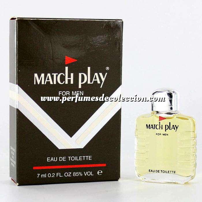 Imagen -Mini Perfumes Hombre Match Play for Men Eau de Toilette 5ml. (Últimas Unidades)