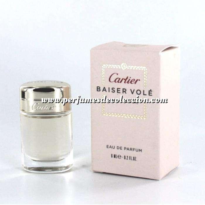 Imagen -Mini Perfumes Mujer Baiser Volé Eau de Parfum by Cartier 6ml. (Últimas unidades)