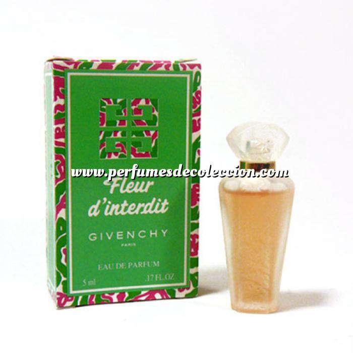 Imagen -Mini Perfumes Mujer Fleur d Interdit by Givenchy 5ml. caja usada (Ideal Coleccionistas) (Últimas Unidades)