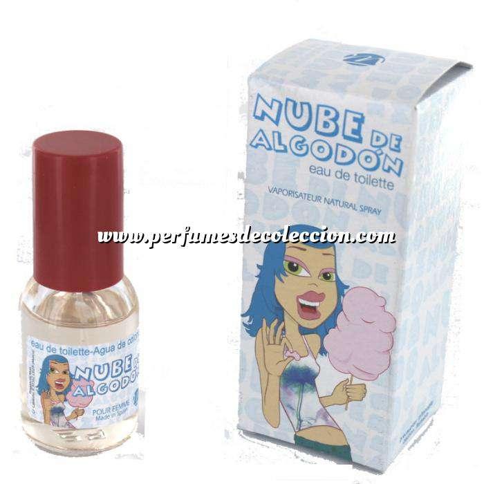 Imagen -Mini Perfumes Mujer Fragancia Dulce Eau de toilette - Nube de Algodón 20ml. (Últimas Unidades)
