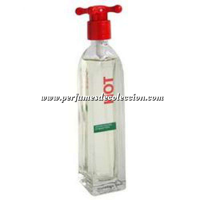 Imagen -Mini Perfumes Mujer Hot Eau de Toilette For Women by Benetton 4ml. (Ideal Coleccionistas) (Últimas Unidades)