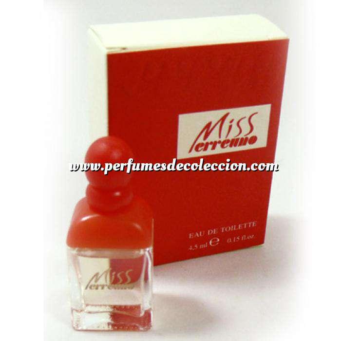 Imagen -Mini Perfumes Mujer Miss Erreuno Eau de Toilette 4.5ml. (Ideal Coleccionistas) (Últimas Unidades)