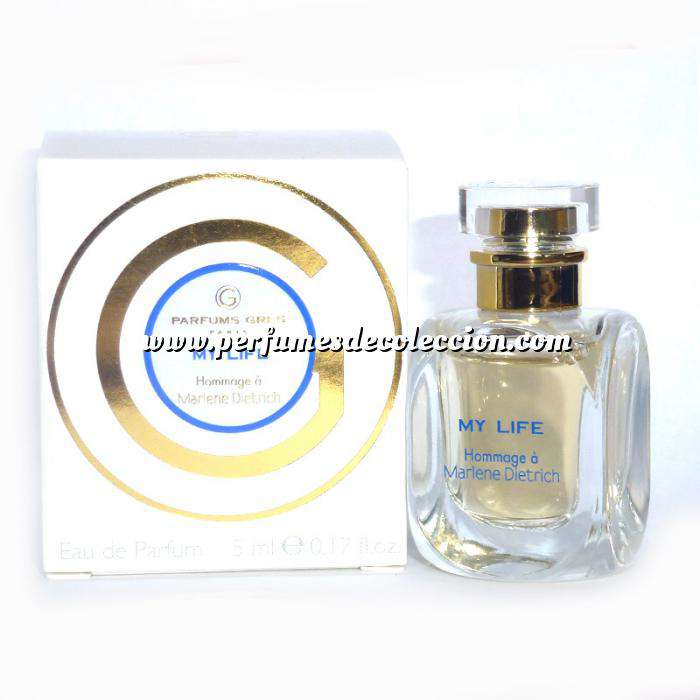 Imagen -Mini Perfumes Mujer My life homage á Marlene Dietrich by Grés (Últimas Unidades)