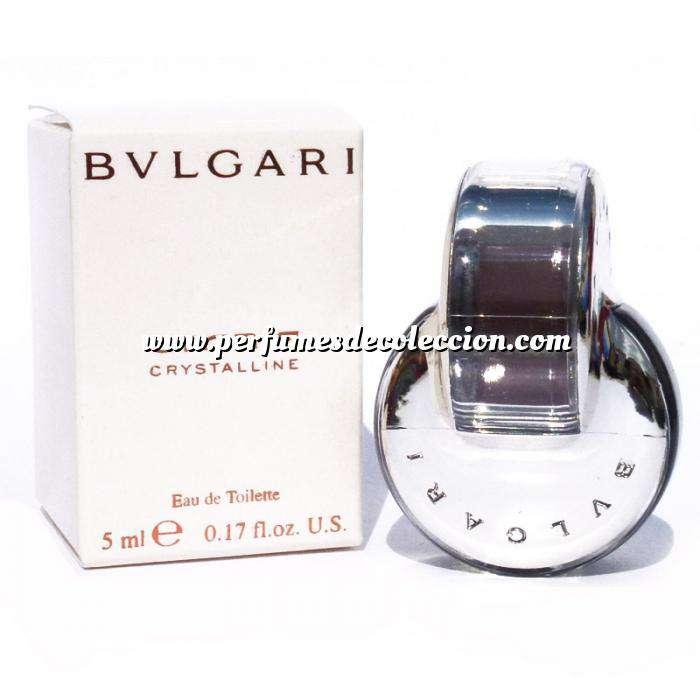 Imagen -Mini Perfumes Mujer Omnia Crystalline Eau de Toilette - Bvlgari (Últimas Unidades)