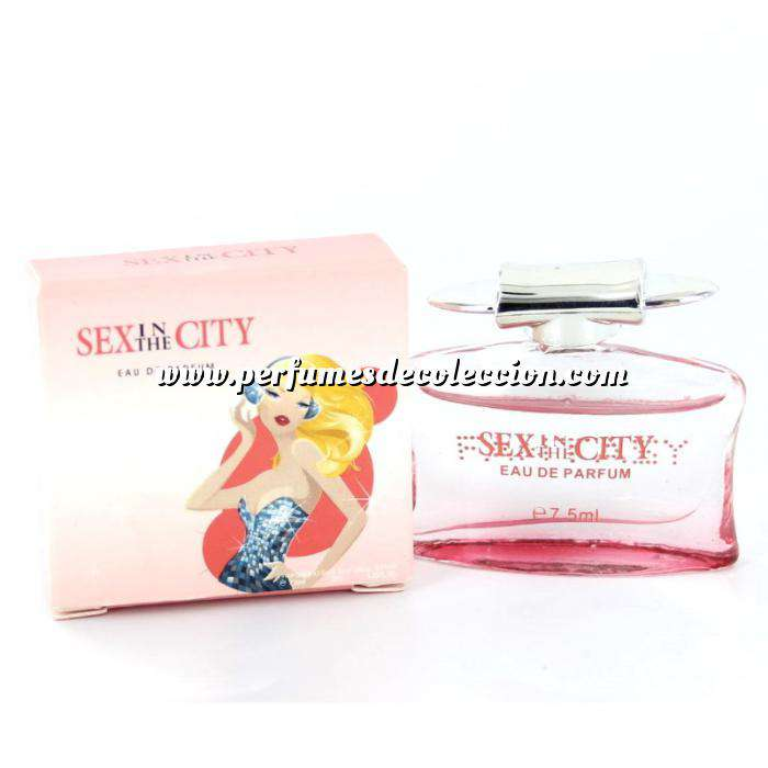 Imagen -Mini Perfumes Mujer Sex in the city - Fantasy Eau de Parfum 7,5 ml. by InStyle (IDEAL COLECCIONISTAS) (Últimas Unidades)