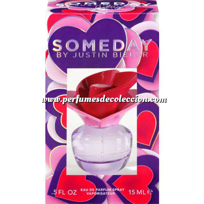 Imagen -Mini Perfumes Mujer Someday By Justin Bieber 15ml vapo (Últimas Unidades)
