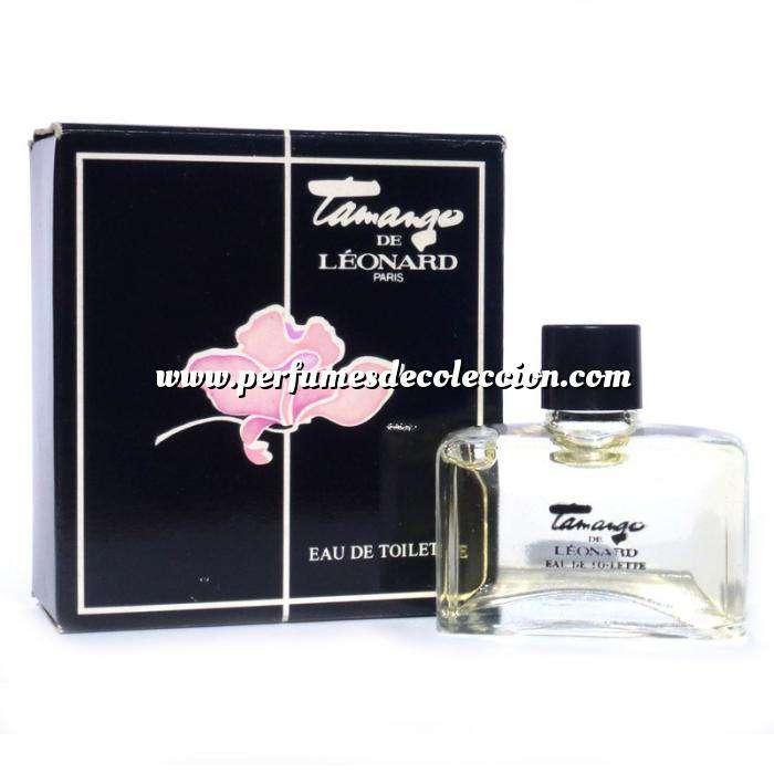 Imagen -Mini Perfumes Mujer Tamango Eau de Toilette by Léonard SIN CAJA (Últimas Unidades)