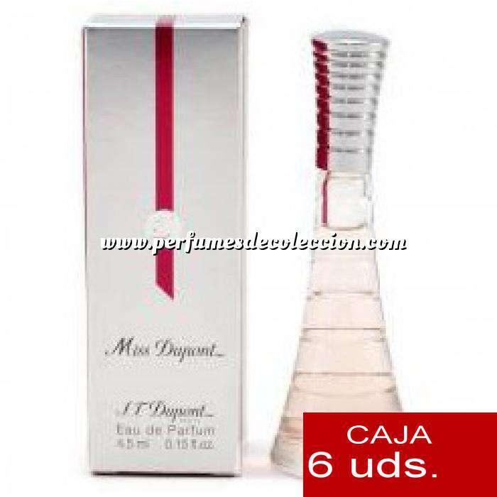 Imagen .PACKS PARA BODAS Miss Dupont Eau de Parfum by S.T.Dupont 4.5ml. PACK 6 UNIDADES