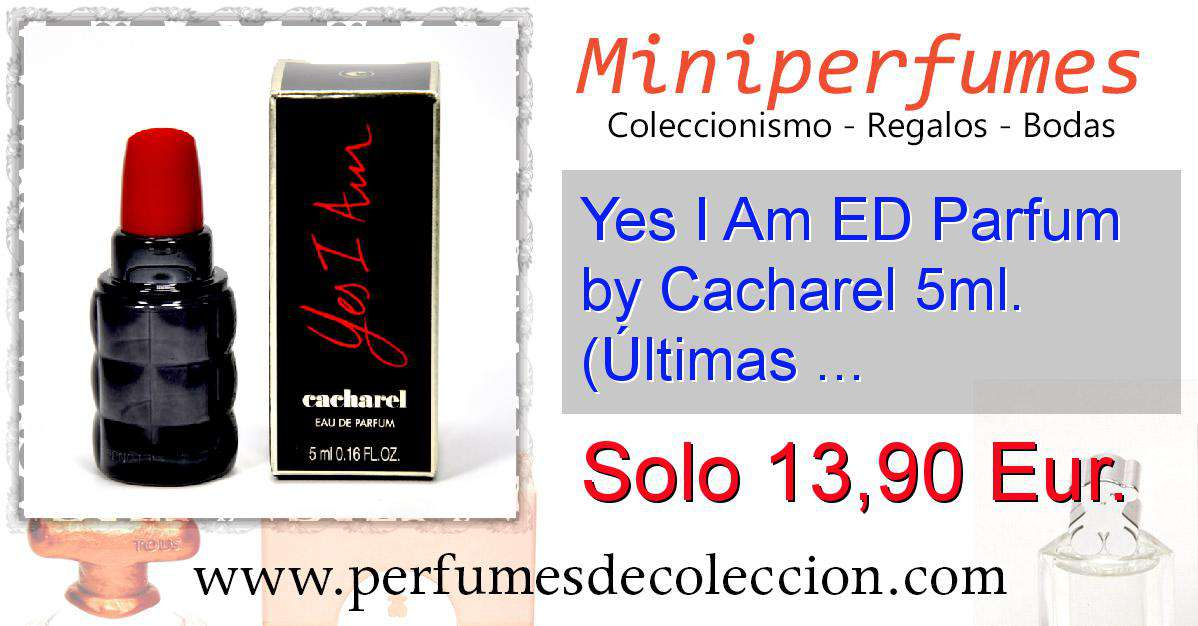 R3a45lqj I By Parfum Ed Am 5mlúltimas Cacharel Yes Unidades N0wP8OZnXk