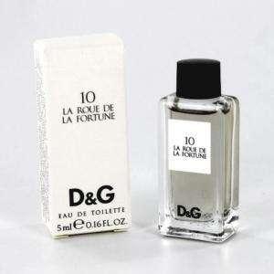 Imagen Mini Perfumes Mujer 10 La Roue de la Fortune Eau de Toilette by Dolce & Gabbana 5ml. (IDEAL COLECCIONISTAS) (Últimas Unidades)