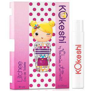 Mini Perfumes Mujer - Kokeshi LITCHEE EDT by Valeria Attinelli 1,2ml. (Últimas Unidades)