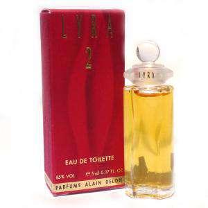 Mini Perfumes Mujer - Lyra 2 Eau de Toilette by Alain Delon 5ml. (Últimas Unidades)