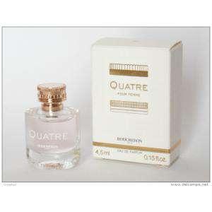 Imagen Mini Perfumes Mujer Quatre EDP by Boucheron 4,5 ml. (IDEAL COLECCIONISTAS) (Últimas Unidades)