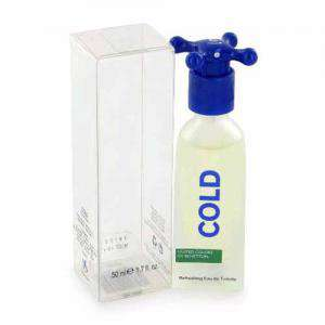 -Mini Perfumes Hombre - Cold Refreshing Eau de Toilette by Benetton 5.5ml. (Ideal Coleccionistas) (Últimas Unidades)