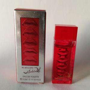 -Mini Perfumes Mujer - Eau de Rubylips Eau de Toilette by Salvador Dalí 3,5ml. (Ideal Coleccionistas) (Últimas Unidades)