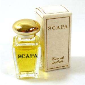 -Mini Perfumes Mujer - Scapa Eau de Toilette by Escapa 7.5ml. (caja pequeña) (Ideal Coleccionistas) (Últimas Unidades)