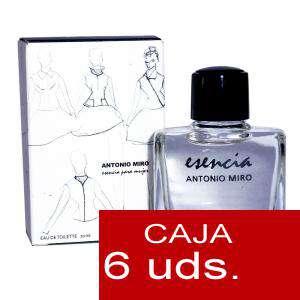 .PACKS PARA BODAS - Esencia para mujer Eau de Toilette by Antonio Miró 10ml. PACK 6 UNIDADES