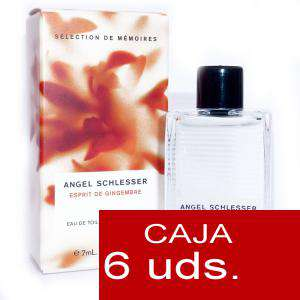 .PACKS PARA BODAS - Esprit de Gingembre Eau de Toilette by Angel Schlesser 7ml. PACK 6 UNIDADES