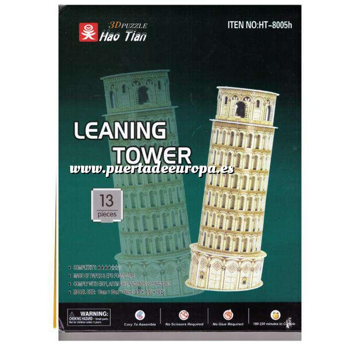 Imagen Puzzles Puzzle Ciudades del mundo - Torre de Pisa (Italia) (Últimas Unidades)