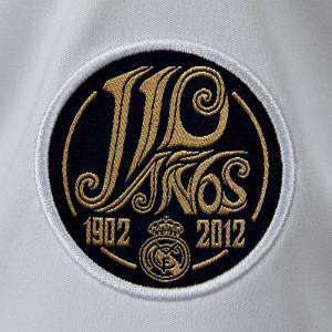 Imagen Camiseta Real Madrid Camiseta Oficial Adidas del 110 aniversario del Real Madrid - Talla L Blanca