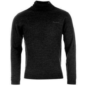 Jerseys Pierre Cardin - Jersey fino de cuello alto NEGRO Pierre Cardin - Talla XXL (Últimas Unidades)