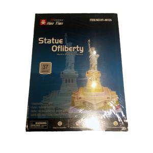 Puzzles - Puzzle Ciudades del mundo - Estatua de la Libertad (Últimas Unidades)